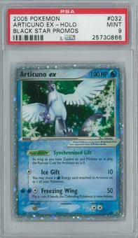 Pokemon Promo Articuno EX 032 Single PSA 9