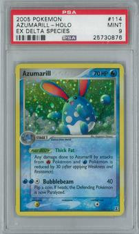 Pokemon EX Delta Species Azumarill 114/113 Single PSA 9