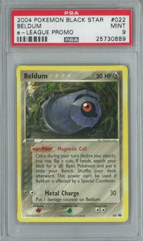 Pokemon e-League Promo Beldum 022 Single PSA 9