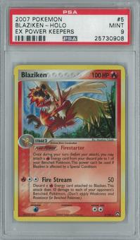 Pokemon EX Power Keepers Blaziken 5/108 Single PSA 9