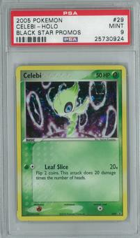 Pokemon Promo Celebi 29 Single PSA 9