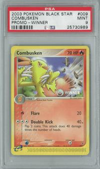 Pokemon Promo Combusken 9 - WINNER Single PSA 9