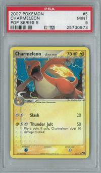Pokemon POP Series 5 Charmeleon 5/17 Single PSA 9