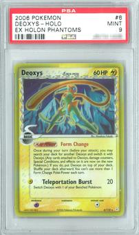 Pokemon EX Holon Phantoms Deoxys 6/110 Single PSA 9