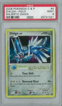 Pokemon Majestic Dawn Dialga 4/100 Single PSA 9