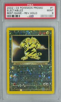Pokemon Best of Game Electabuzz 1 Single PSA 9