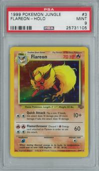 Pokemon Jungle Flareon 3/64 Single PSA 9