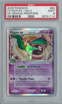 Pokemon EX Dragon Frontiers Flygon ex 92/101 Single PSA 9