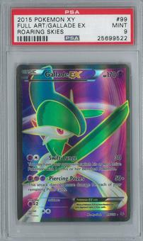 Pokemon Roaring Skies Gallade EX 99/108 Single PSA 9