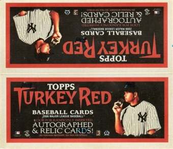 2006 Topps Turkey Red Baseball 24-Pack Box