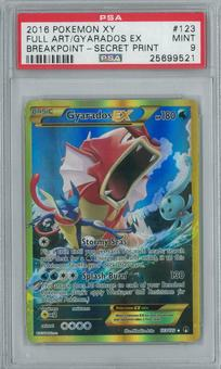 Pokemon Breakpoint Gyarados EX 123/122 Single PSA 9
