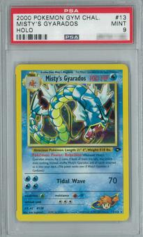 Pokemon Gym Challenge Misty's Gyarados 13/132 Single PSA 9