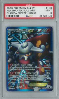 Pokemon Plasma Freeze Heatran EX 109/116 Single PSA 9