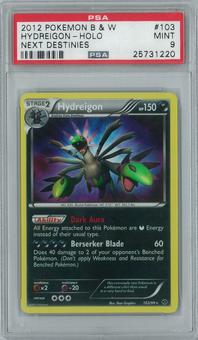 Pokemon Next Destinies Hydreigon 103/99 Single PSA 9