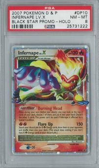 Pokemon Promo Infernape Lv. X DP10 Single PSA 8