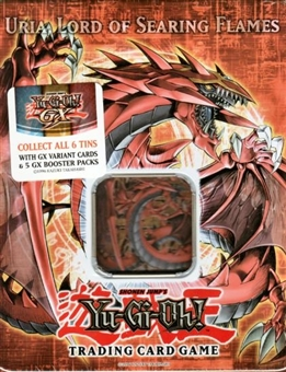 Upper Deck Yu-Gi-Oh 2006 Holiday Uria, Lord of Searing Flames Tin
