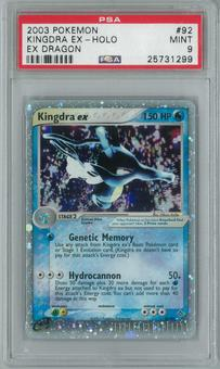 Pokemon EX Dragon Kingdra ex 92/97 Single PSA 9