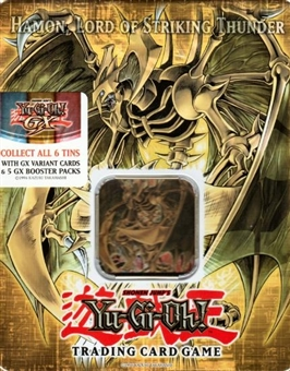 Upper Deck Yu-Gi-Oh 2006 Holiday Hamon, Lord of Striking Thunder Tin