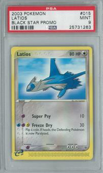 Pokemon Promo Latios 15 Single PSA 9