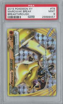 Pokemon Breakthrough Marowak Break 79/162 Single PSA 9
