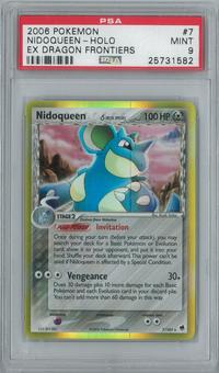 Pokemon EX Dragon Frontiers Nidoqueen 7/101 Single PSA 9