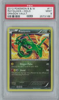 Pokemon Dragon Vault Rayquaza 11/20 Single PSA 9
