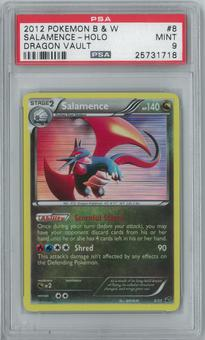 Pokemon Dragon Vault Salamence 8/20 Single PSA 9