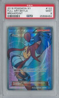 Pokemon Breakpoint Skyla 122/122 Single PSA 9