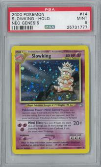 Pokemon Neo Genesis Slowking 14/111 Single PSA 9