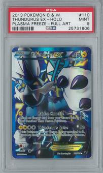 Pokemon Plasma Freeze Thundurus EX 110/116 Single PSA 9