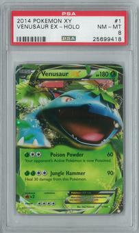 Pokemon XY Venusaur EX 1/146 Single PSA 8