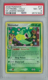 Pokemon EX Legend Maker Victreebel 13/92 Single PSA 8