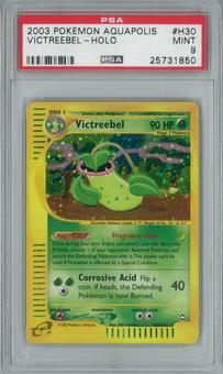 Pokemon Aquapolis Victreebel H30/H32 Single PSA 9