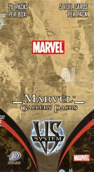 Vs System Marvel Gallery Booster Box