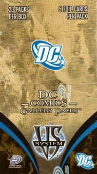 Vs System DC Comics Gallery Booster Box