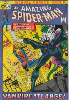 Amazing Spider Man #102 FN