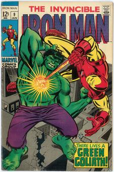 Iron Man #9  VF-