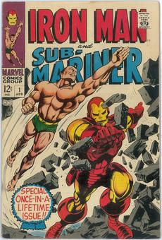 Iron Man and Sub-Mariner #1 VG/FN