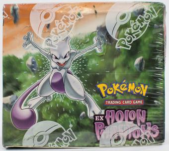 Pokemon EX Holon Phantoms Booster Box - EX-MT BOX 2