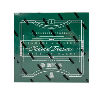 2016 Panini National Collegiate Treasures Football 4-Box Case- DACW Live 32 Random Card Break #2
