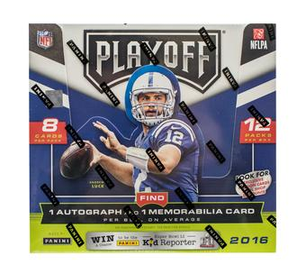 2016 Panini Playoff Football Hobby Box