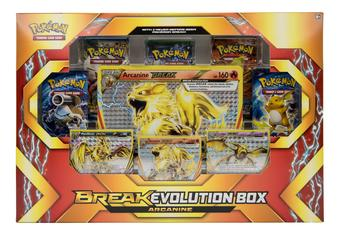 Pokemon: BREAK Evolution Arcanine Box