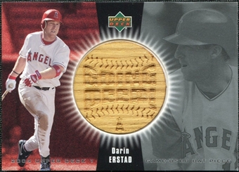 2004 Upper Deck Going Deep Bat #DE Darin Erstad