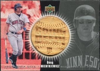 2004 Upper Deck Going Deep Bat #DM Doug Mientkiewicz SP /123