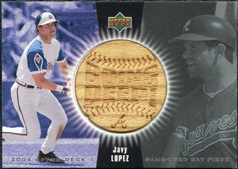 2004 Upper Deck Going Deep Bat #JL Javy Lopez SP /77