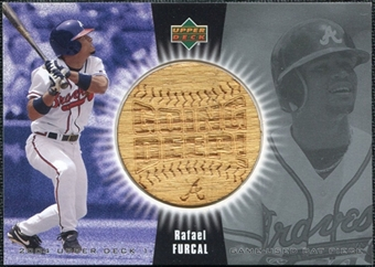 2004 Upper Deck Going Deep Bat #RF Rafael Furcal SP