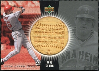 2004 Upper Deck Going Deep Bat #TG Troy Glaus SP /113