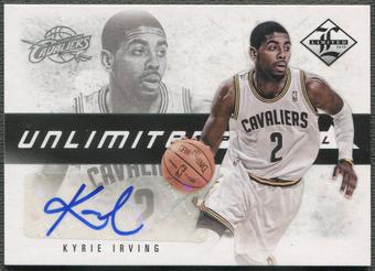 2012/13 Limited #2 Kyrie Irving Unlimited Potential Signatures Rookie Auto #036/199