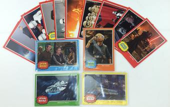 SDCC 2016 Topps Star Wars Force Awakens Oversized Card Set of 50