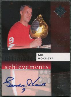 2007/08 Ultimate Collection #UAGH Gordie Howe Ultimate Achievements Auto #4/6